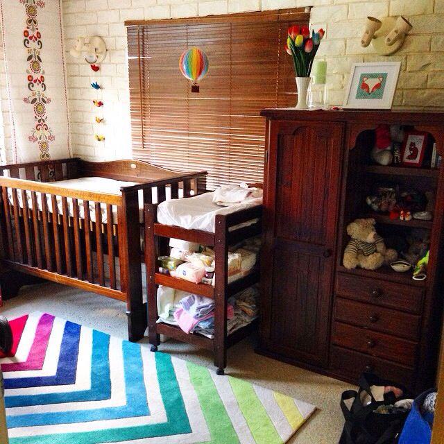 My Baby Girl S Nursery: My Boho Girl Rainbow Baby Nursery