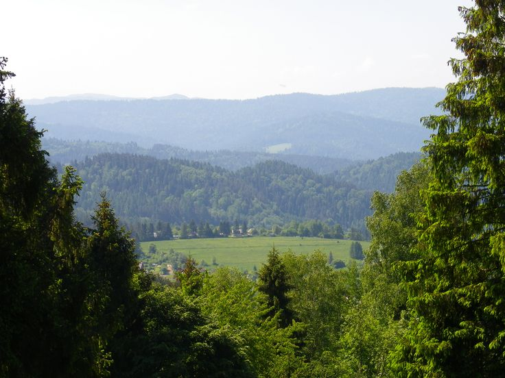 Krynica Zdrój.Góra Parkowa