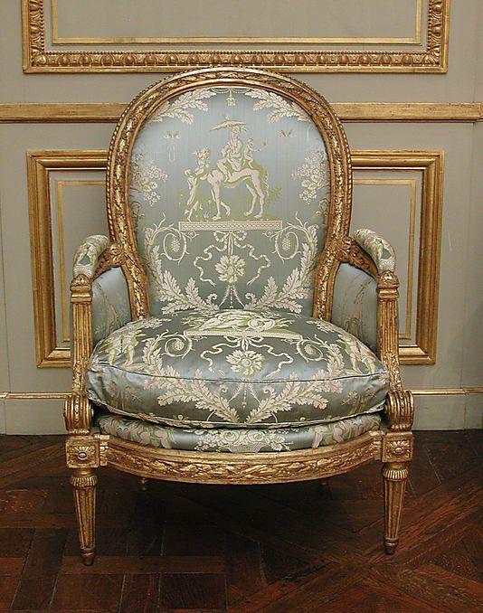 Louis XVI chair – c.1770-1775 | MOMA ᘡղbᘠ