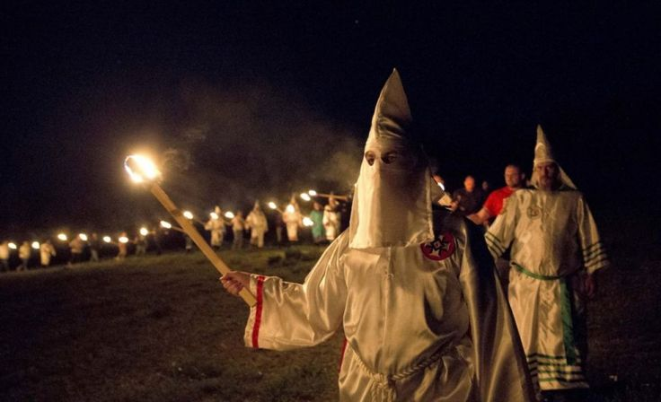 The Klu Klux Klan still has active groups in 33 states