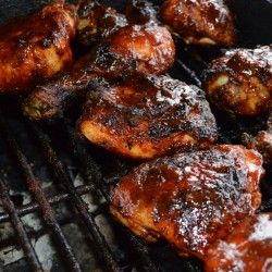 Old Fashion BBQ Chicken- made this for Labor Day and it was perfect!! #Food and recipe