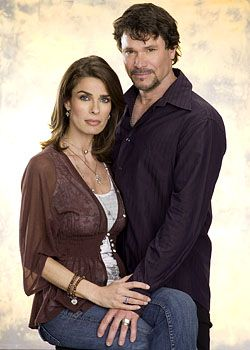 Peter Reckell & Kristian Alfonso as Bo & Hope Brady (Days of Our Lives)