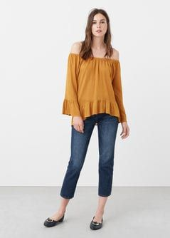 Blouse volants MANGO