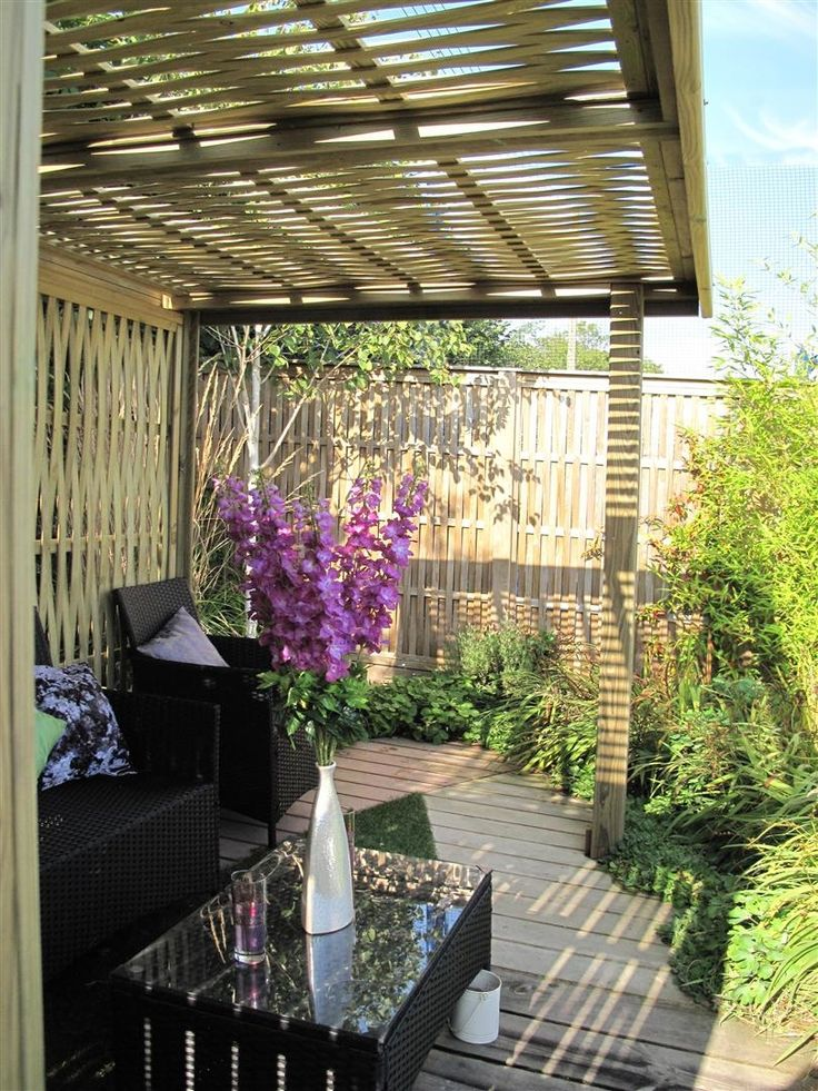 side of woven garden shelter from jacksons fencing timber structure garden home. beautiful ideas. Home Design Ideas