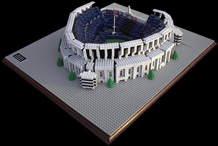 Yankee Stadium New York Yankees 3 500 Lego Blocks Www