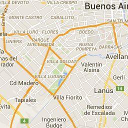 Viaja Fácil - Todos los Colectivos, Subtes y Trenes de Buenos Aires y GBA - Mapa de recorridos de transportes públicos