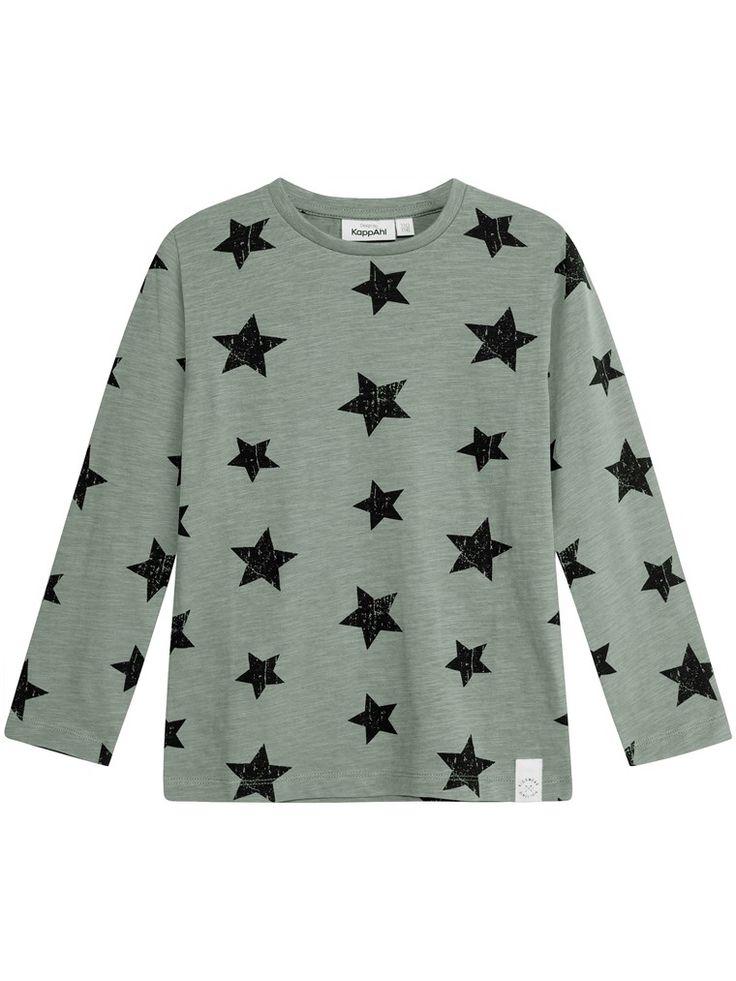 Långärmad t-shirt med stjärntryck till barn - Hittar du hos KappAhl