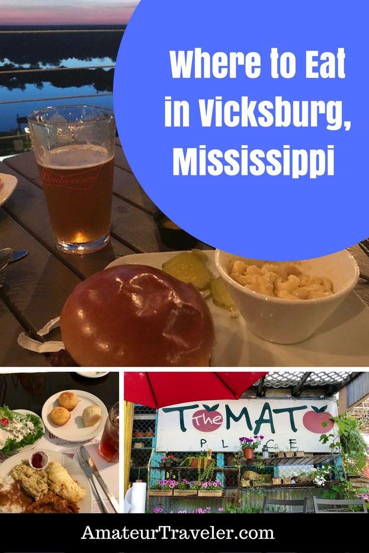 Where to Eat in Vicksburg, Mississippi