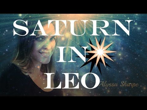 Saturn in Leo: Letting Go of Narcissism (Saturn in the 5th