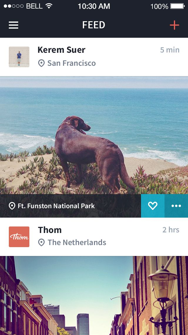 Photo Sharing App by Riley Tippetts