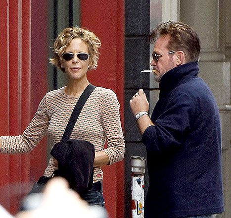 Meg Ryan, John Mellencamp Hang Out After Split: Picture - Us Weekly