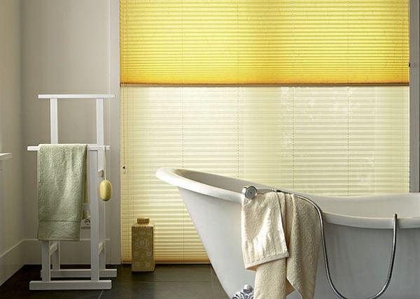 Raffrollos fürs Badezimmer sorgen für eine vollkommene ...