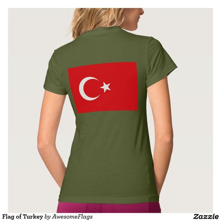 Flag of Turkey Tshirt