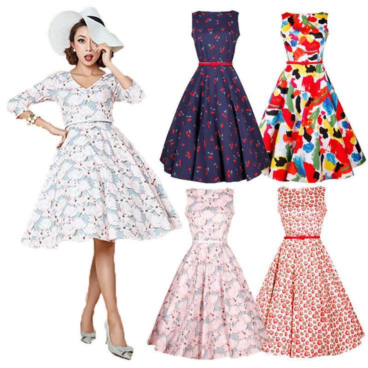 Goedkope 2016 Fashion Womens Vintage Stijl Retro Mouwloze Zomer A lijn Aardbei Jurken, koop Kwaliteit jurken rechtstreeks van Leveranciers van China: Hallo! Van harte welkom om onze winkel!Kwaliteit is de eerste met de beste service. Alle klanten zijn onze vrienden.Fash