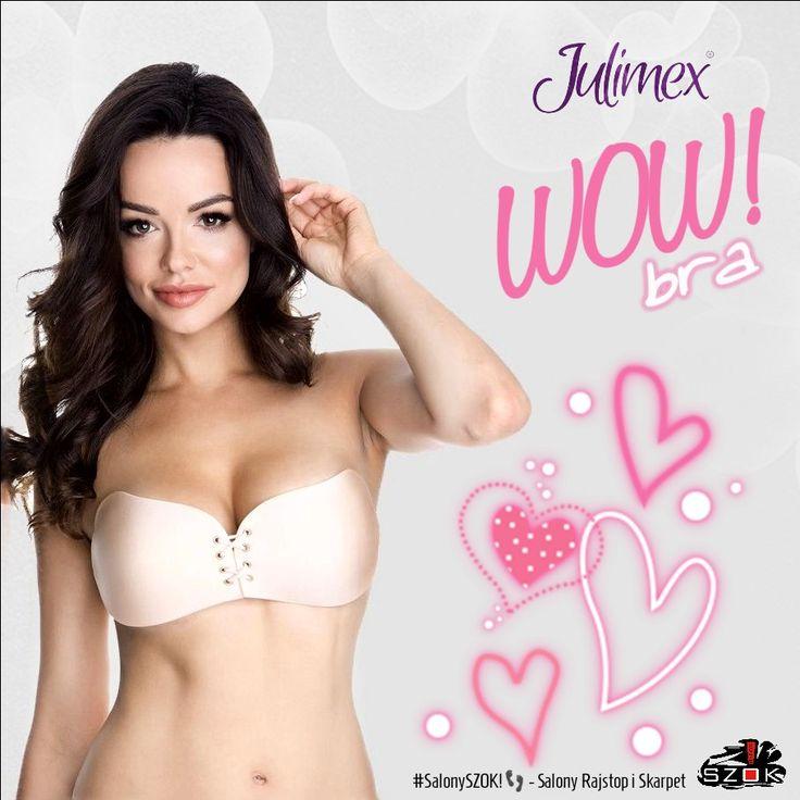 🔴 #Wyjątkowy, #samonośny #biustonosz z efektem #WOW!bra firmy #Julimex który zmieni Twoje podejście do #biustonoszy! Dostępny w Naszych #SalonySZOK!👣. Serdecznie Zapraszamy 💯📛