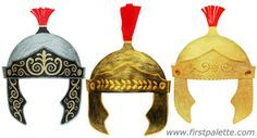 printable pattern for helmet of salvation - Google Search
