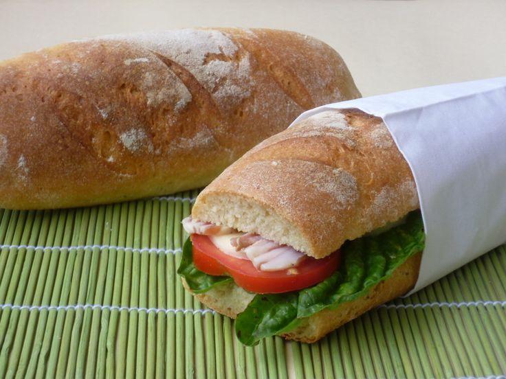 filoncini di pane con farina kamut