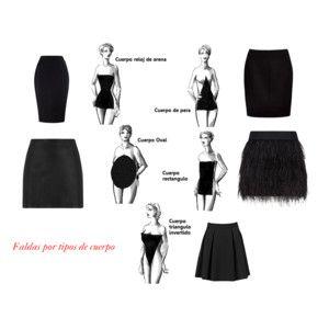 Faldas por tipos de cuerpo...
