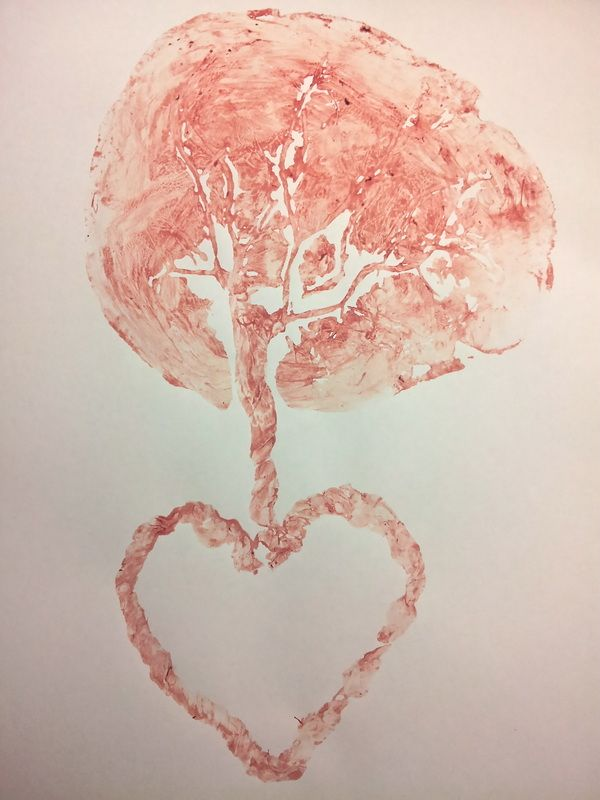 Honoring the Placenta Through Art: Making Tree of Life Placenta Prints - Tree of Life Placenta Services