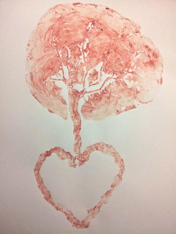 Honoring the Placenta Through Art: Making Tree of Life Placenta Prints - Tree of Life Placenta Services