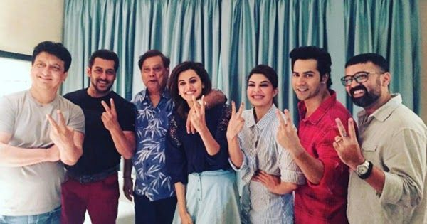 Salman Khan as we know will do a special appearance in Varun Dhawan Jacqueline Fernandez and Taapsee Pannu starrer Judwaa 2 which is a sequel to his famous film Judwaa. A picture recently went viral on the interent wherein Sajid Nadiadwala Salman David Dhawan Taapsee Jacqueline and Varun are seen posing together. That was when Salman wrapped his part of shooting over the weekend.  Regarding the further development of the film and Salmans role in the film reportedly Salman will also have a…
