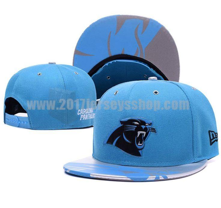 Carolina Panthers Blue 2017 NFL Draft Spotlight Adjustable Snapbacks Hat