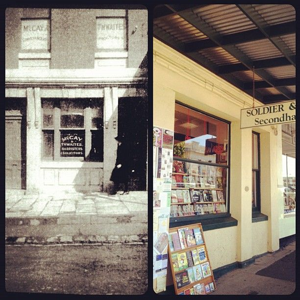 Soldier and Scholar bookshop, Castlemaine Victoria.