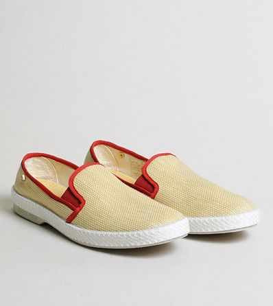 Rivieras Leisure Shoes Slip Ons: Montecristi Rouge (for woman) - 10% OFF