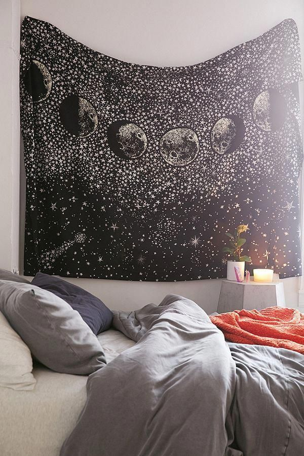 Stardust Tapestry Room Tapestry Wall Tapestry Boho Tapestry