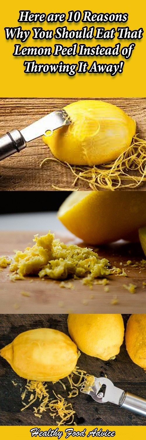 Here are 10 Reasons Why You Should Eat That Lemon Peel Instead of Throwing It Away!