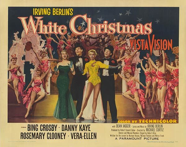 White Christmas Movie Cast | WHITE CHRISTMAS POSTER ]