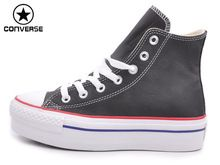 Оригинальные Converse женская обувь all star скейтбординг обувь Черный бесплатная доставка(China (Mainland))