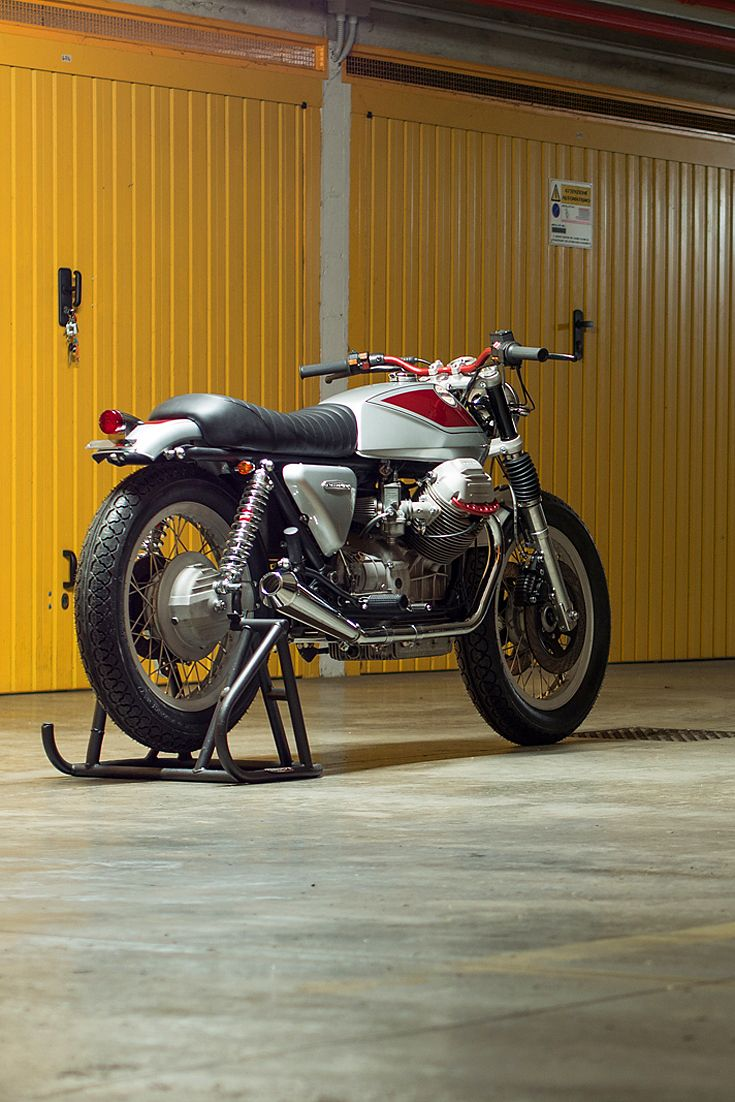 25 Best Custom Motorcycles Images On Pinterest Boss Hoss Trike Wiring Diagram Quattrotempi A New Guzzi From The Old Master