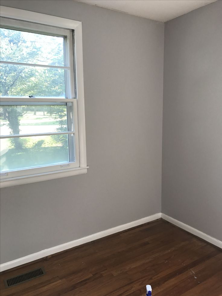 Boys bedroom love this paint color behr silver bullet - Best paint finish for living room ...