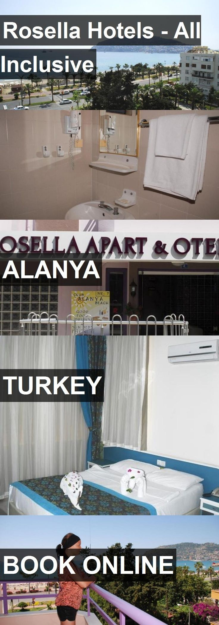 Hotel Rosella Hotels - All Inclusive in Alanya, Turkey. For more information, photos, reviews and best prices please follow the link. #Turkey #Alanya #hotel #travel #vacation