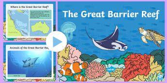 The Great Barrier Reef PowerPoint - Australia, The Great Barrier Reef, Sea Life, Aboriginals, Aboriginal people, indigenous people, Aust
