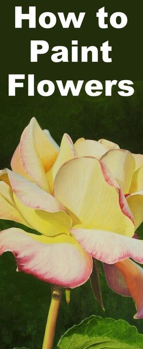Learn how to paint a realistic rose with this oil painting tutorial