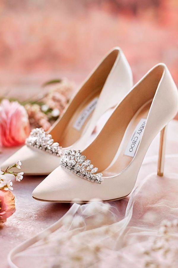 Awesome 42 Stylish And Most Comfortable Wedding Shoes Ideas More At Http Fashionfezt Com Index Php 2018 08 23 42 Bride Shoes Wedding Shoes Jimmy Choo Heels