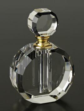 Badash Crystal YD356 ROUND CRYSTAL PERFUME