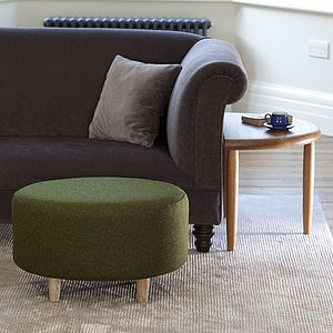 Acorn Side Tables And Foot Stool - coffee tables