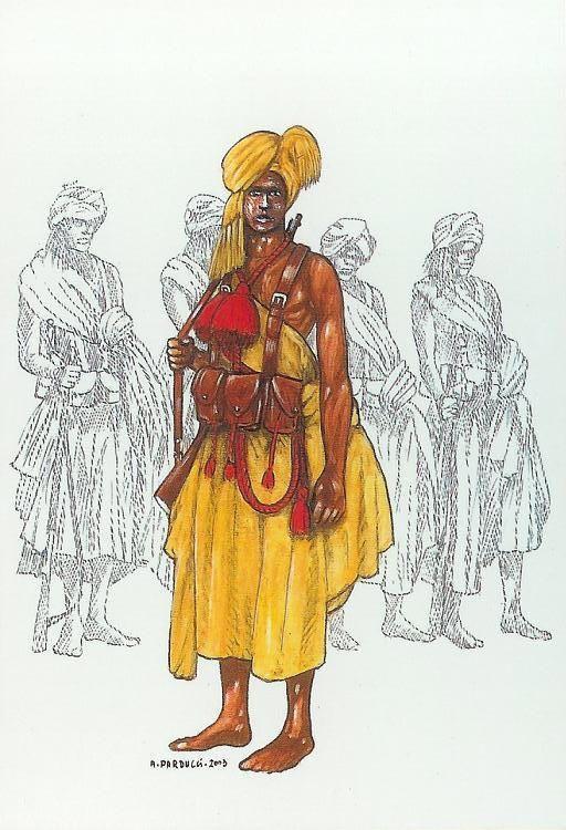 """Baluk Basci, comandante Banda - A.O.I. 1940-1941    I Dubat , """"Gruppi Bande di Confine"""" furono costituiti in Somalia nel 1924.   Nella Campagna Italo-Etiopica 1935-36 operarono 6 Gruppi Bande Dubat coordinate da un Comando Raggruppamento Bande.  Nella  II GM  il 1° e 2° Gruppo Bande di Frontiera operarono nell'Amhara e il 1° Gruppo Bande di Frontiera nell'Harar, il 1°, 2°, 3° , 4° Gruppo Bande di Frontiera nel Galla e Sidamo, la Banda Cammellata di Confine in Dancalia e altre quattro Bande"""