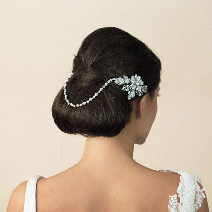 Art déco The Great Gatsby Floral drapage par AntiqueLaceHeirlooms