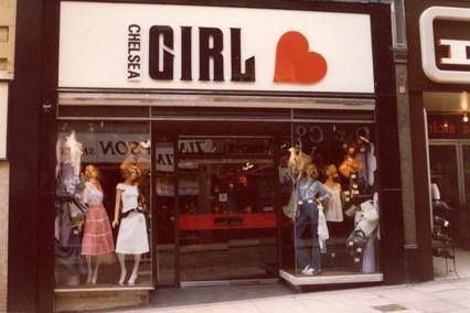 Chelsea Girl boutique - Kings Road, London, 1960s
