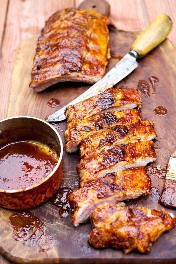 This recipe benefits from a basting technique used by the chef and barbecue madman Adam Perry Lang, who thins out his barbecue sauce with water, then paints it onto the meat he's cooking in coat after coat, allowing it to reduce and intensify rather than seize up and burn. (Photo: Andrew Scrivani for The New York Times)