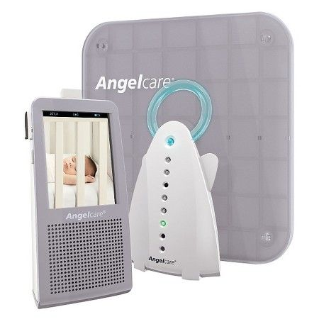 Angelcare AC1100 Video, Movement and Sound Monitor with 1 Rechargeable Parent Unit : Target