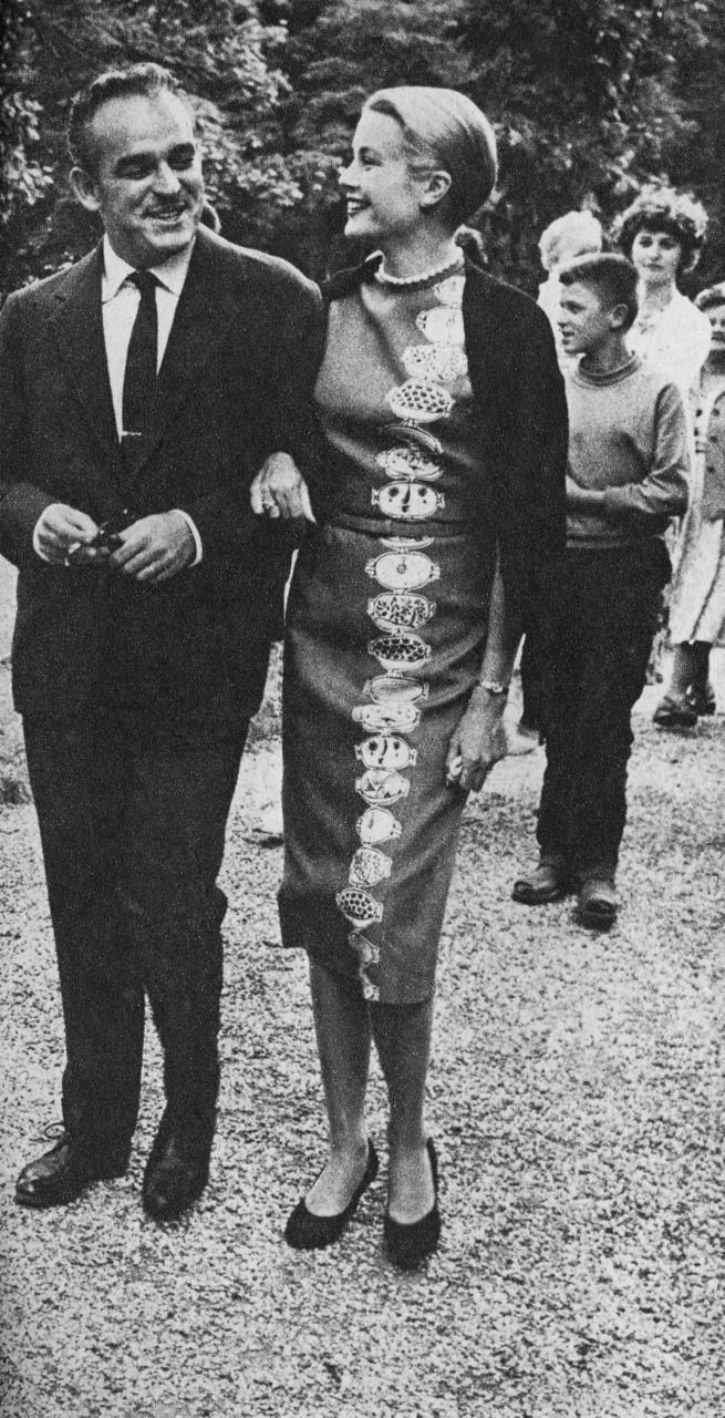 Prince Ranier and Princess Grace
