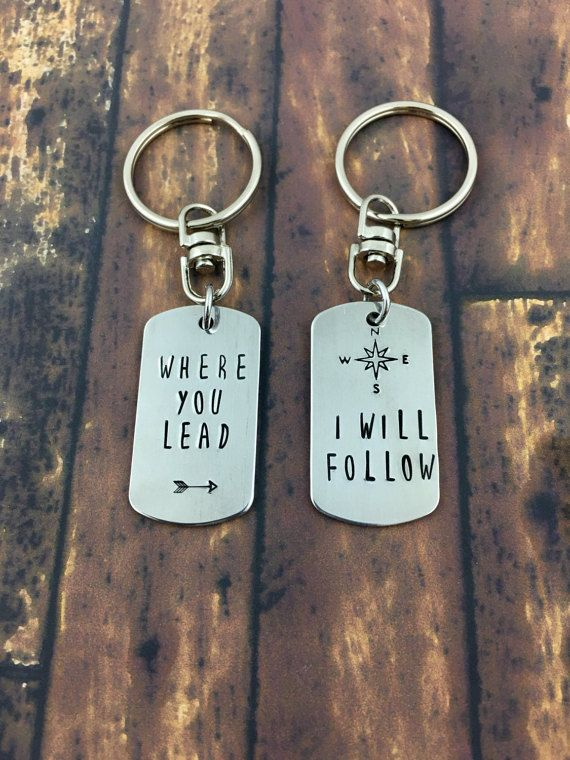 Where You Lead Keychain via 50+ Best Gilmore Girls Gift Ideast http://emmalinebride.com/gifts/50-best-gilmore-girls-gift-ideas/