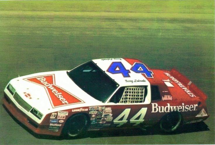 Terry Labonte 44 Budweiser Chevrolet Nascar race cars