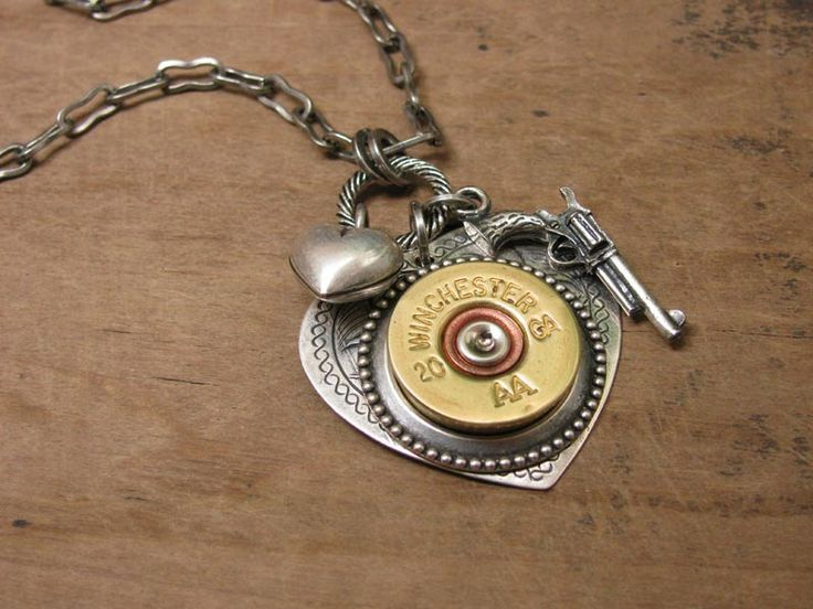how to make a bullet shell necklace
