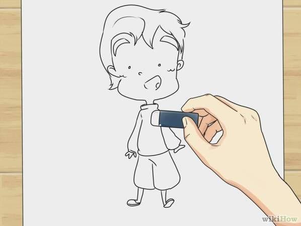 Paso 10 Para Dibujar Personajes De Comic Dibujo Personajes Como Aprender A Dibujar Y Aprender A Dibujar